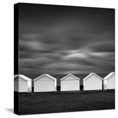Beach Noir-Rob Cherry-Stretched Canvas Print