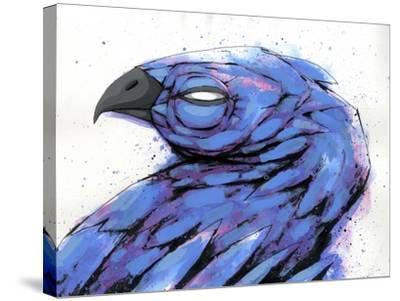 Bird At Rest-Ric Stultz-Stretched Canvas Print