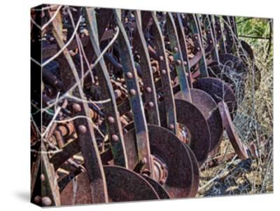 Farm Rust-Randy Waln-Stretched Canvas Print