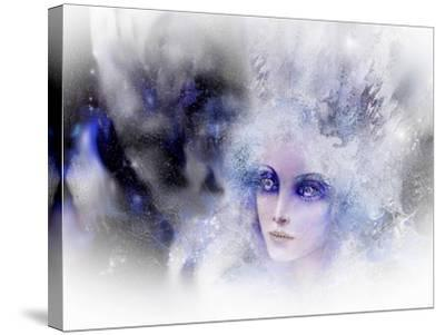 Snow Queen-RUNA-Stretched Canvas Print