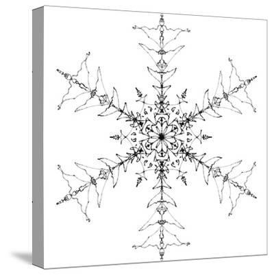 Snowflake 10-RUNA-Stretched Canvas Print