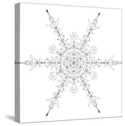 Snowflake 19-RUNA-Stretched Canvas Print