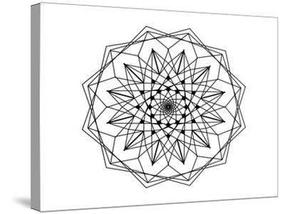 Coloring 12-Stephanie Analah-Stretched Canvas Print