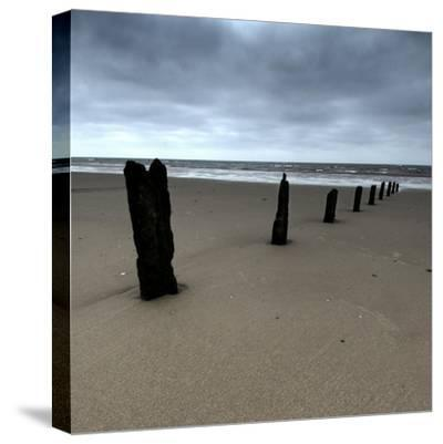 Seascape 01-Tom Quartermaine-Stretched Canvas Print