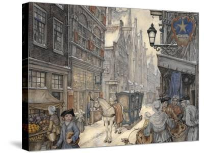 PD 321-Anton Pieck-Stretched Canvas Print