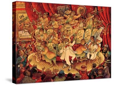 Hidi Ho-Bill Bell-Stretched Canvas Print