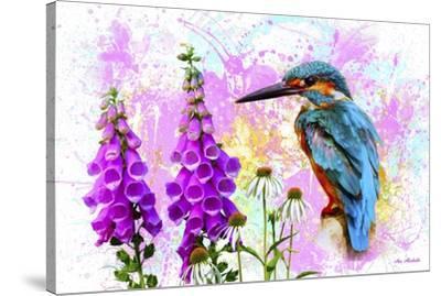 Bird Collection 40SEP2-Ata Alishahi-Stretched Canvas Print