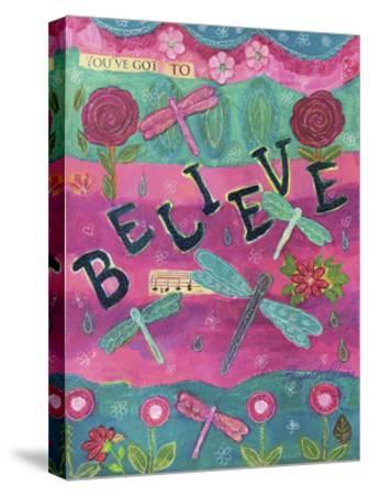 119-Believe-Elizabeth Claire-Stretched Canvas Print