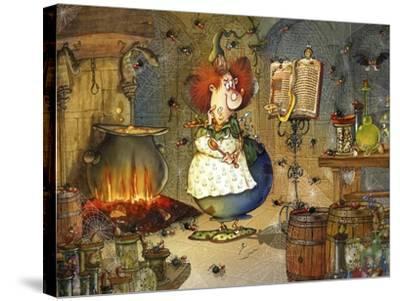 Is this Right Spell-Francois Ruyer-Stretched Canvas Print