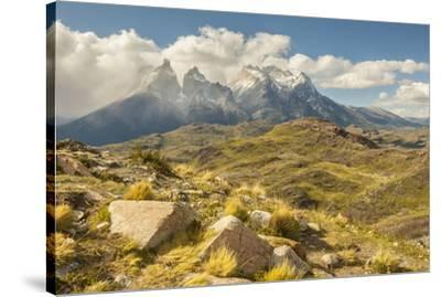 Chile, Patagonia. The Horns mountains.-Jaynes Gallery-Stretched Canvas Print