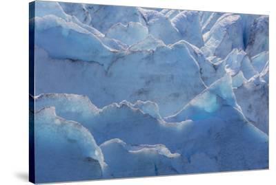 USA, Alaska, Portage Glacier of glacier ice.-Jaynes Gallery-Stretched Canvas Print
