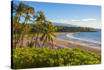 Kaunaoa Beach, Kohala Coast, Island of Hawaii-Douglas Peebles-Stretched Canvas Print