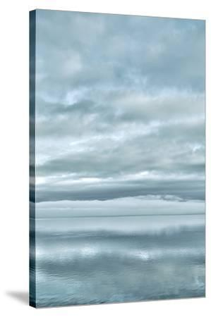 USA, Washington State, Seabeck. Sunrise mirrored in Hood Canal.-Jaynes Gallery-Stretched Canvas Print