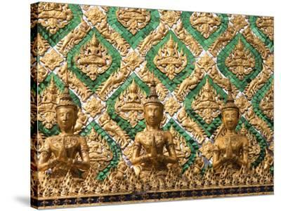 Grand Palace, Bangkok, Thailand-Art Wolfe-Stretched Canvas Print