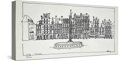 The Grand Place, Lille, France-Richard Lawrence-Stretched Canvas Print