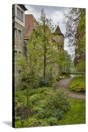 Germany, Rothenberg ob der Tauber, Outside the City Wall-Hollice Looney-Stretched Canvas Print