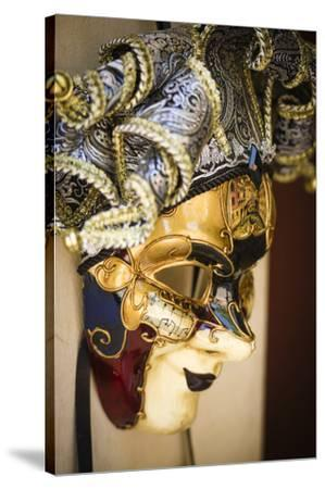 Carnival mask, Venice, Veneto, Italy-Russ Bishop-Stretched Canvas Print