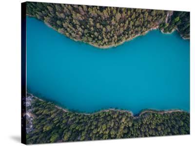 Deep Blue-Antonio Carrillo Lopez-Stretched Canvas Print