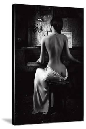 Music of the Body-Ruslan Bolgov (Axe)-Stretched Canvas Print
