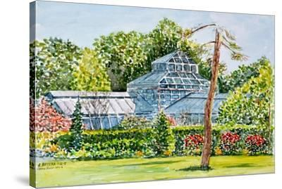 Snug Harbor Greenhouse-Anthony Butera-Stretched Canvas Print