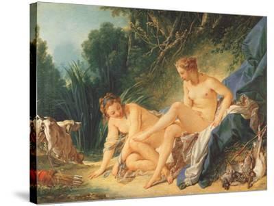 Boucher El Bano De Diana.El Bano De Diana Museo De Louvre Paris Giclee Print By Francois Boucher Art Com