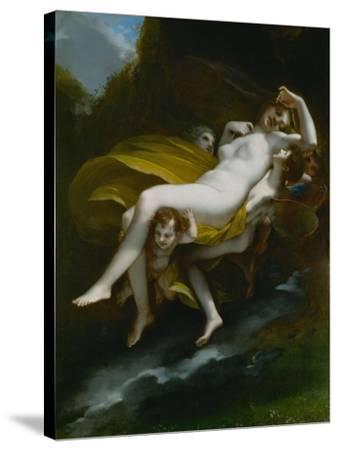 Lenlevement de Psyche-The abduction of Psyche, 1808-Pierre Paul Prud'hon-Stretched Canvas Print