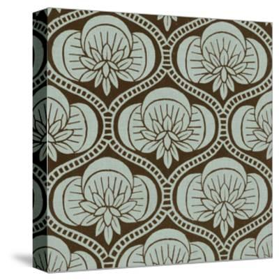 Spa and Sepia Tile I-Vision Studio-Stretched Canvas Print