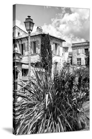 France Provence B&W Collection - Uz�Architecture-Philippe Hugonnard-Stretched Canvas Print