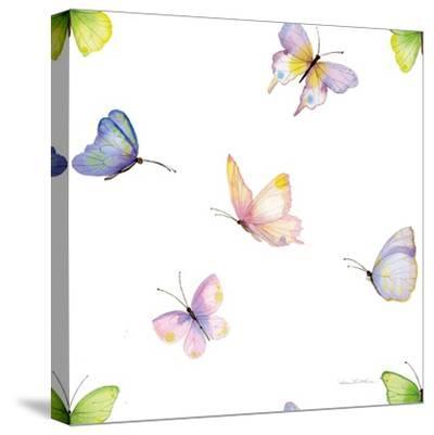 Floral Delight Pattern II-Kathleen Parr McKenna-Stretched Canvas Print