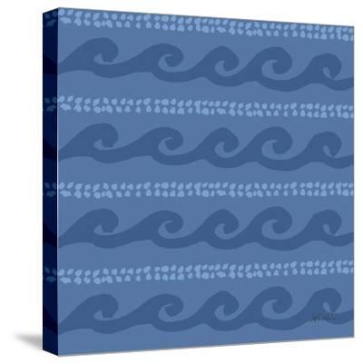 Deep Sea Step 02D-Anne Tavoletti-Stretched Canvas Print