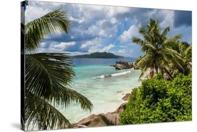 Anse Severe beach, La Digue, Republic of Seychelles, Indian Ocean.-Michael DeFreitas-Stretched Canvas Print