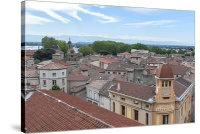Rooftop view, Tournon, France-Lisa S^ Engelbrecht-Stretched Canvas Print