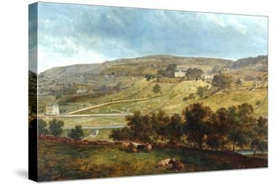 Ewood Hall From Greenfields, 1869-John Holland-Stretched Canvas Print