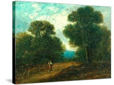Landscape near Norwich-John Constable-Stretched Canvas Print