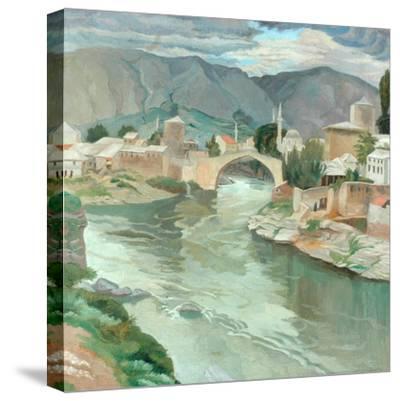 Mostar, Herzegovina, 1922-Sydney Carline-Stretched Canvas Print