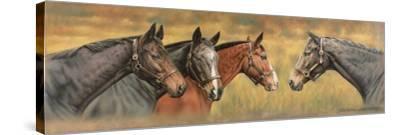 Giltedge, Custom Made, Biko and Prince Panache-Sandra Lawrence-Stretched Canvas Print