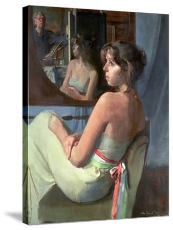 Stephanie in Profile, 1979-John Stanton Ward-Stretched Canvas Print