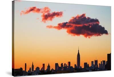 Manhattan Skyline, 2012--Stretched Canvas Print