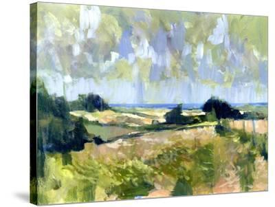 Sutton Downs View, 2007-Clive Metcalfe-Stretched Canvas Print