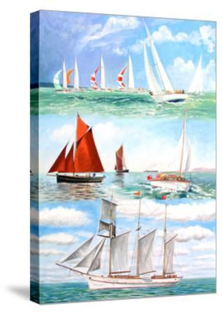 Sailing Yachts, 2006-Alex Williams-Stretched Canvas Print