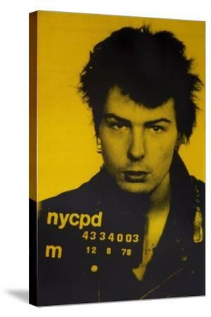 Sid Vicious II-David Studwell-Stretched Canvas Print