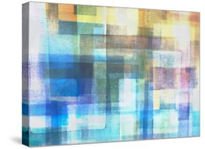 Blue Translucence-Hermione Carline-Stretched Canvas Print