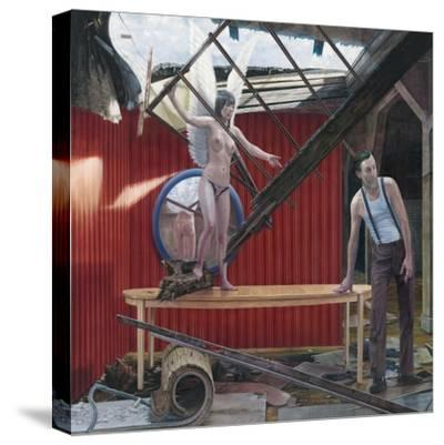 Making Sky, 2008--Stretched Canvas Print