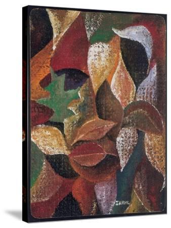 Autumn Leaves-Ikahl Beckford-Stretched Canvas Print