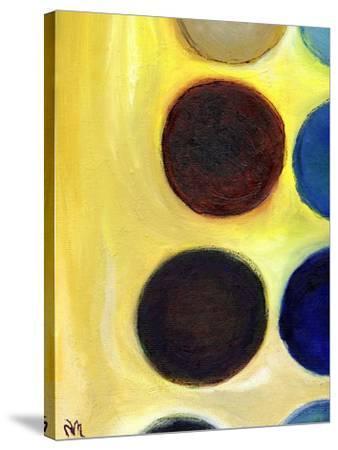 The Happy Dots 4, 2014-Nancy Moniz Charalambous-Stretched Canvas Print