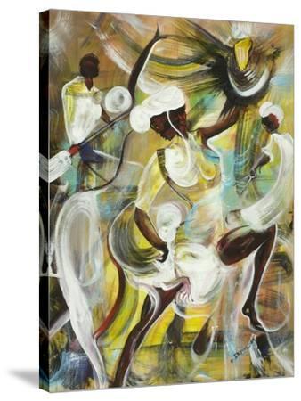 Pocomania-Ikahl Beckford-Stretched Canvas Print