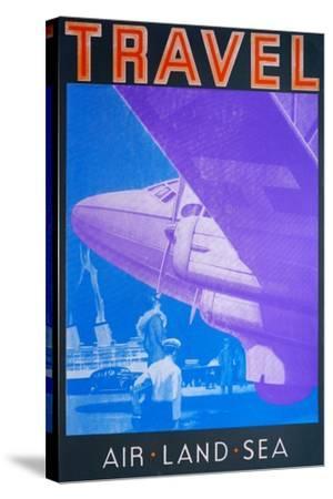 Travel: Air, Land Sea-David Studwell-Stretched Canvas Print