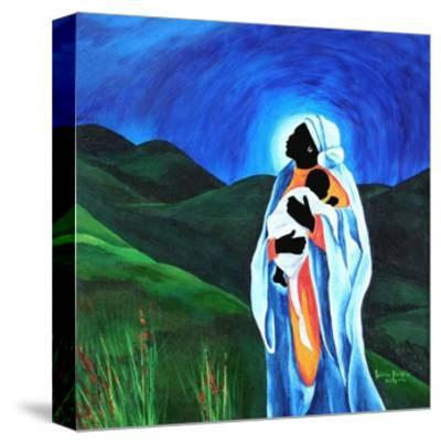 Madonna and child - Hope for the world, 2008-Patricia Brintle-Stretched Canvas Print