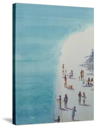 Bird's-Eye Beach, 2000-Lincoln Seligman-Stretched Canvas Print