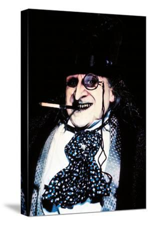 "DANNY DEVITO. ""BATMAN RETURNS"" [1992], directed by TIM BURTON.--Stretched Canvas Print"